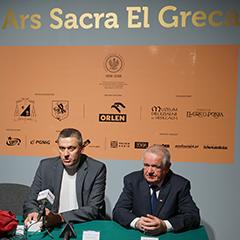 Konferencja prasowa po Wystawie Ars Sacra El Greca